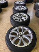 Land Rover Range Rover 21 Oem Autobiography Wheels And Tires - Grand Rapids