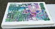 49 Large Island Bed And Breakfast Limited Edition Serigraph Prints Eileen Seitz