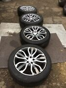 Genuine Land Rover 275/45 R21 Scorpion Tyres And Wheels Full Set