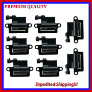 8pc Uce314 Ignition Coil For Chevrolet Sonora 5.3l V8 2003 2004
