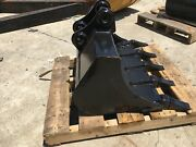 New 30 Heavy Duty Excavator Bucket For A Takeuchi Tb125 W/ Coupler Pins