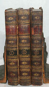 Studies Of Nature French By Saint-pierre Fine Leather 3 Vol Book Set London 1798