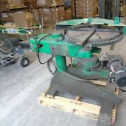 Pandh Welding Positioner 24 Turntable T-slots Variable Speed Hydraulic Tilting
