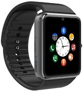 Smart Watch Touchscreen With Camera Unlocked Watch Cell Phone Sim Card Slot Text