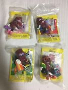 Vintage California Raisins Limited Edition Series Sealed With Cards Set Of 4