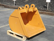 New 36 Backhoe Bucket For A Case 580n Without Teeth Includes Coupler Pins