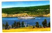 Princess Helene - Cpr Ferry Between St. John Nb And Digby Ns Ca Postcard Br-57