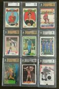 Va Graded Cards Bgs Bvg Sport And Non-sportselect From Menu List