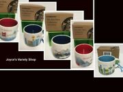 Starbucks You Are Here Collection Ornament Various Places