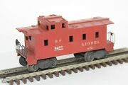 Lionel 6257 Sp Southern Pacific Caboose 1940's W Box Red Very Good Condition