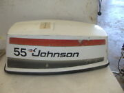 1976 Johnson Evinrude Outboard Sea-horse 55hp Hood Cowl Engine Cover Cowling Oem