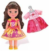 Beauty And The Beast Belle 14 Toddler Doll With Bonus Dress Fairytale Belle