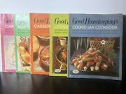 Good Housekeeping's Cookbook Magazines Lot Of 5 Vintage Issues 1967 Ads/recipes