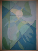 Painting. Gouache. Paper. Abstraction