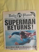 Superman Returns Daily Planet Prop Special Edition