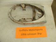 1956 Johnson 3hp Outboard Motor Lower Tray Bowl Gas Tank Support Brace Cowl