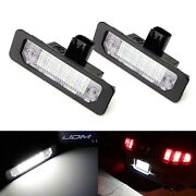 Oem-replace 18-smd White Led License Plate Light Kit For Ford Mustang Flex Focus