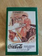 1993 Coca-cola Collectors Playing Cards