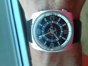 American Time Alarm Hand-winding Vintage Collection 1960´s Nos Watch Swiss Uhr