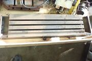 44 X 11.25 X 4.75 Tall Steel T-slotted Table Layout Welding Weld Sub 3 T-slot