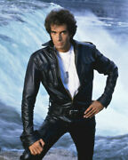 235667 The Magic Of David Copperfield In Black Leather Jacket Print Poster Ca