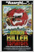 239963 Attack Of The Killer Tomatoes Vintage Movie Wall Print Poster Ca