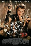 237899 Resident Evil After Life 2010 Vers Movie Jovovich Wall Print Poster Ca