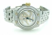 Glam Rock Palm Beach Collection Diamond Accental Stainless Steel 39mm Watch 7