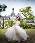 Size 8 Hayley Paige Wedding Dress Rrp Andpound4800 Tulle Princess A Line Embellished