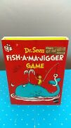 Vintage 1970 Mattel Dr. Seuss Fish-a-ma-jigger Game Complete Very Hard To Find
