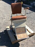 Vintage Antique American Optical Co. Dental Barber Tattoo Patient Chair