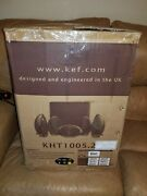Nice Kef Kht1005.2gb 5.1 Subwoofer Satellite System With Kube-1 Subwoofer