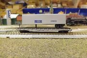 N-scale Custom Painted Chicago And Eastern Illinois Candei 45' Tofc 44161