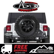 Add Stealth Fighter Tire Carrier For 18-19 Jeep Wrangler Jl And Unlimited Jlu