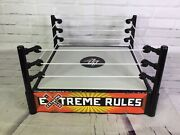 Wwe Mattel 2010 Extreme Rules Accessory Wrestling Ring For Action Figures Rare