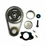 Sbf 289 302 351w Roller Timing Set With 2 Piece Eccentric Thrust Plate