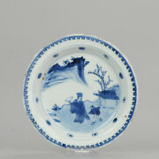 Antique Chinese Porcelain Plate 17th Century Ming Dynasty Tianqi/chongzh...
