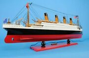Old Modern Handicrafts Titanic With Lights Collectible