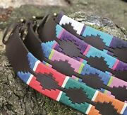Leather Belt   Shires Aubrion Ladies Drover Polo Brown   6 Colours And 5 Sizes