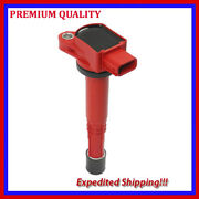 1pc High Energy Ignition Coil Jhd289-r For Honda S2000 2.2l L4 2004 2005
