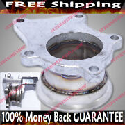 Steel Adaptor For T3/t4 5bolt To 2.5 V-band Flange Fits Toyota Acura Honda Bmw