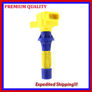 1pc High Performance Ignition Coil Jmd2873y For Mazda Cx-7 2.3l L4 2011 2012
