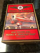 Wings Of Texaco 1930 Travel Air Model R Mystery Ship 5th In Series New In Box
