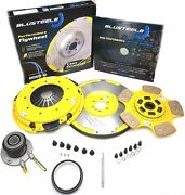 Ceramic Button Stage 4 Clutch Kit Flywheel For Commodore Hsv Ls3 L98 L77 Ve
