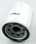 2 Pack Emgo 2008-2013 Kawasaki Zg1400 Concours Abs Oil Filter Chrome 10-82220