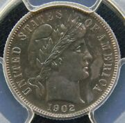 1902 Proof Barber Dime Pcgs Pr64 Scarce. Stunning Luster And Blue Color