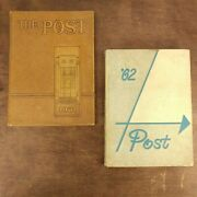 1961 1962 George Washington High School Yearbook The Post - Indianapolis Signed