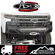 Add Stealth Fighter Front Winch Bumper For And03919-and03921 Chevy Silverado 1500
