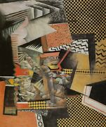 Chinese Restaurant Max Weber Cubist Print In 11 X 14 Inch Mount Ready To Frame