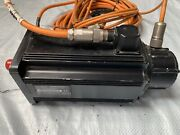 Indramat Mdd090b-020-n2l-120pa0 Servo Motor With Power And Feedback Cables.
